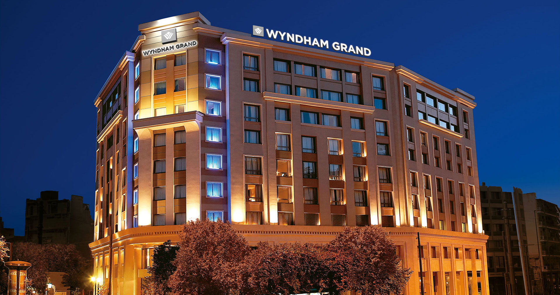 Wyndham Grand Athens Central Hotel In Athens Affordable Luxury
